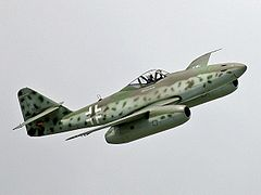 Replika Messerschmitta Me 262.