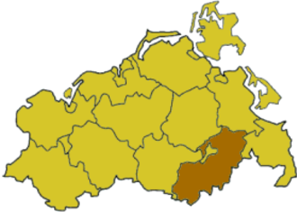 Mecklenburg-Strelitz (district) - Image: Mecklenburg wp mst