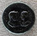 Medaglione di filippo I, otacilia severa e filippo II, 248 dc, recto.JPG