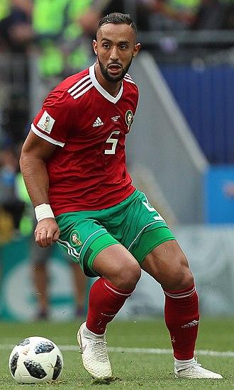 Medhi Benatia - Benatia with Morocco at the 2018 World Cup