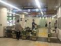 Meiji-jingumae stn ticket gates 2018 4 22.jpg