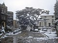 Melting snow at the Abbey Hotel - geograph.org.uk - 1383086.jpg