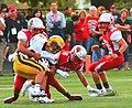 Mentor Cardinals vs. St. Ignatius Wildcats (9697283346).jpg