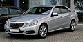 Mercedes-Benz E 200 CGI BlueEFFICIENCY Avantgarde (W 212) – Frontansicht, 27. August 2011, Mettmann.jpg