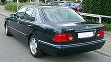 Mercedes-Benz W210 rear 20080809.jpg