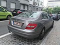 Mercedes Classe C Belgium Diplomatic plate (44498276044).jpg