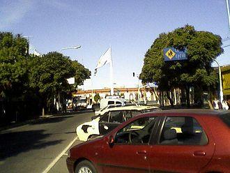 Merlo, Buenos Aires - Avenida del Libertador General San Martín.