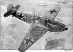 Messerschmitt Bf 109E fighter cutaway drawing, 1941 (44266184).png
