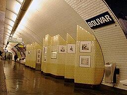 Metro de Paris - Ligne 7bis - Bolivar 03