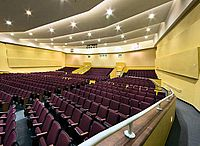 The Miami Beach Senior High School Auditorium Without Any Students During The Summer The Academy Of Visual And Performing Arts Stages Many Of Its Plays