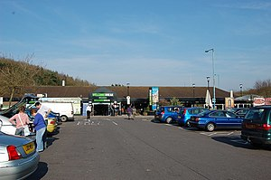 Michaelwood services - Image: Michael Wood Motorway Services, M5 geograph.org.uk 1217025