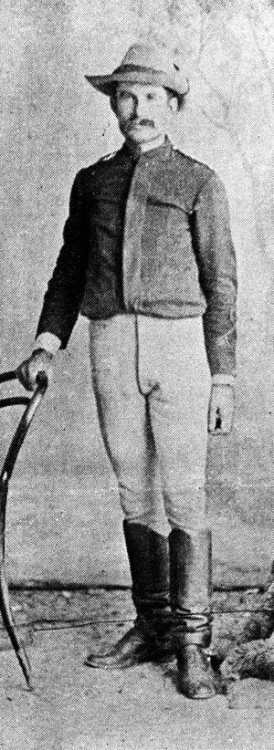 Gatton murders - Michael Murphy, pictured in 1898.