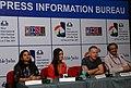 Michael Winterbottom addressing a press conference during the 42nd International Film Festival of India (IFFI-2011), in Panaji, Goa. The Director, IFFI, Shri Shankar Mohan, the Director (M&C), PIB.jpg