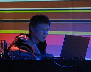 Michael Rother - Rother in concert in November 2007