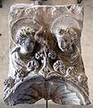 Michele da firenze, anconetta con la madonna col bambino e due formelle con busti d'angeli, xv secolo 01.JPG