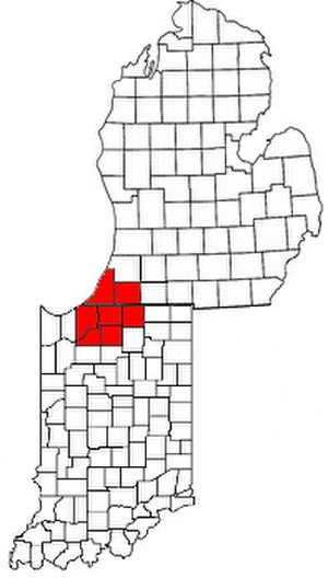 Michiana -  Michiana as defined by the Chamber of Commerce of St. Joseph County