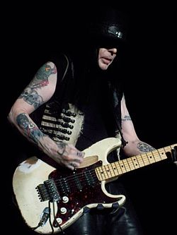 Mick Mars performs in Erie, PA March 7th, 2009}