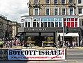 Middle East protest, Princes Street, Edinburgh (geograph 2518509).jpg