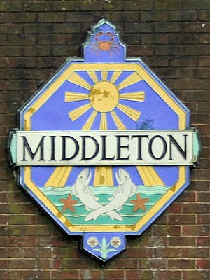 Middleton-on-Sea - Image: Middleton Village Sign