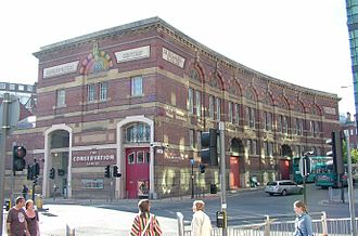 Culshaw and Sumners - Midland Railway goods warehouse, later the Conservation Centre, Liverpool (1872–74)