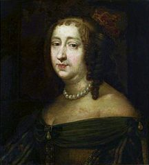 Portrait of Anne of Austria (1601-1666).