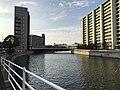 Mikasagawa River near Midoribashi Bridge.jpg