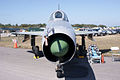 Mikoyan-Gurevich MiG-21U Mongol-A HeadOn TICO 13March2010 (14412828300).jpg