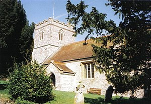 Milborne St Andrew - Image: Milborne St. Andrew, parish church of St. Andrew geograph.org.uk 518514