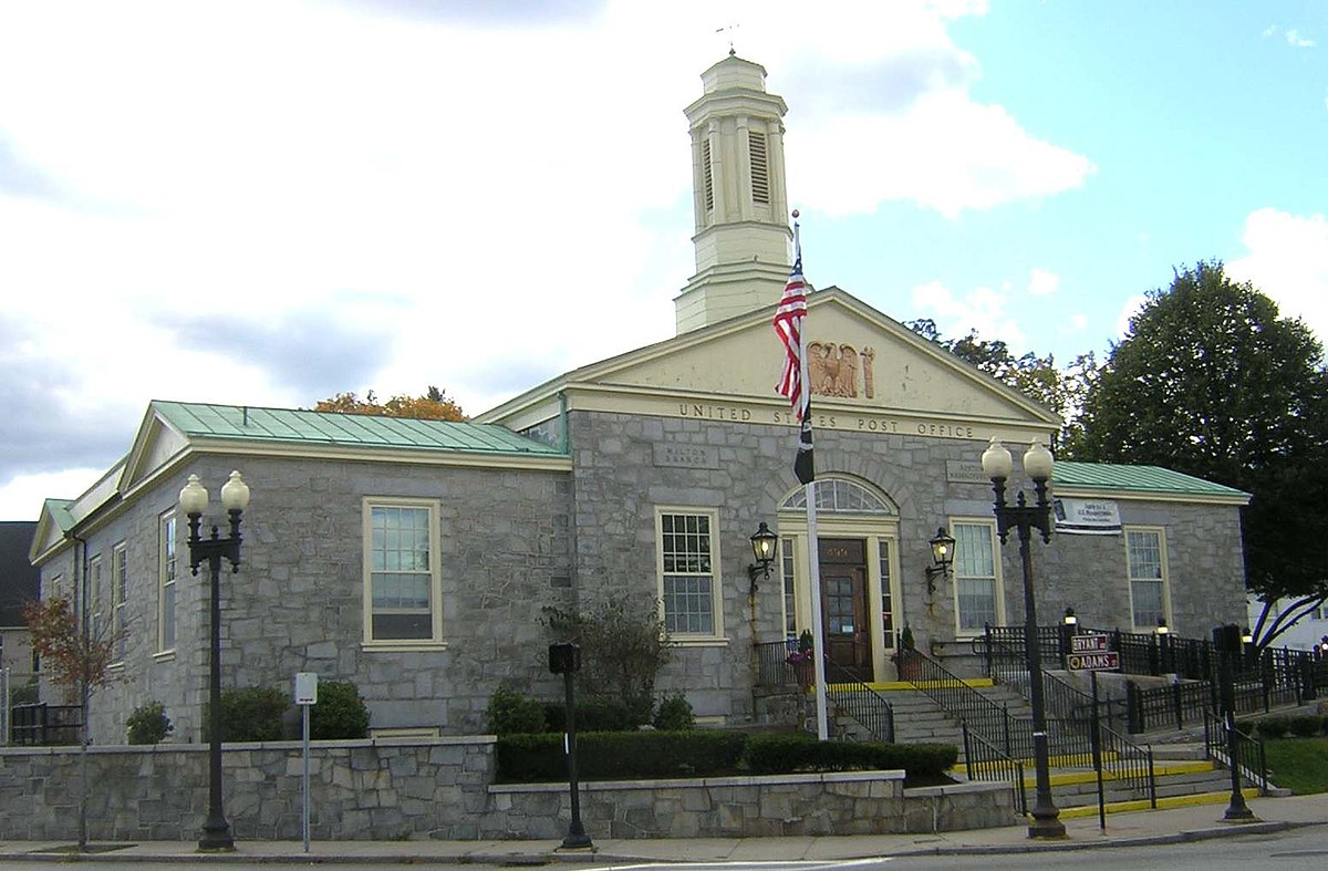United States Post Office Milton Main Wikipedia
