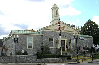 United States Post Office–Milton Main United States historic place