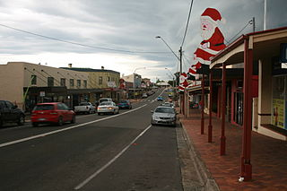 Town in New South Wales, Australia