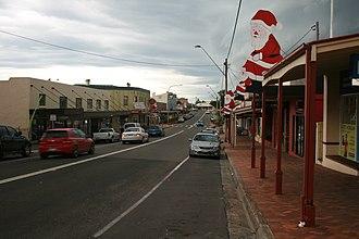 Milton, New South Wales - The Princes Highway as it passes through Milton