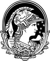 Minerva, símbolo da Universidade