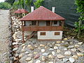 Miniature of the traditional Serbian house Serbia1.JPG