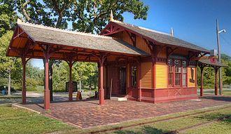 Minnesota Transportation Museum - Minnehaha Depot at the Minnehaha Historic District