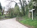Minor road junction, near Westleigh - geograph.org.uk - 1246921.jpg