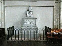 Denkmal Pietro Metastasios von Vincenzo Lucardi in der Wiener Minoritenkirche (Quelle: Wikimedia)