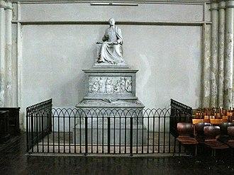 Minoritenkirche - Monument for Pietro Metastasio