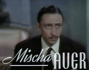 Mischa Auer - from the trailer for the film Sweethearts (1938).
