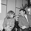 Modesty Blaise film van Amerikaan Joseph Losey. Filmopnamen te Amsterdam. Moni, Bestanddeelnr 917-9564.jpg
