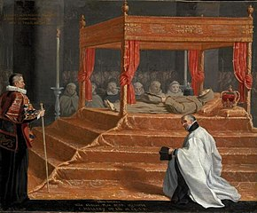Albert VII on the Catafalque
