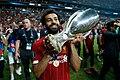 Mohamed Salah with UEFA Super Cup.jpg
