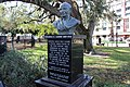 Mohandas K. Gandhi bust in at Lake Eola park.jpg