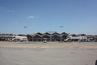 Moi International Airport - Apron view