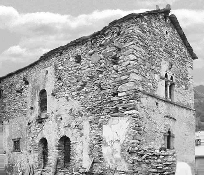 Maison du XVe siècle, au hameau de la Rua
