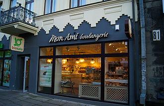 Storefront - Storefront of a food shop