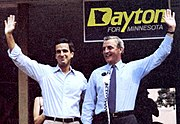Mondale and future Minnesota DFL Senator Mark Dayton
