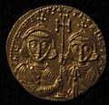Monete d'oro di giustiniano II e tiberio IV, 705-711, 02, 7.jpg