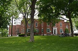 Monroe County, Illinois - Image: Monroe County Courthouse, Waterloo