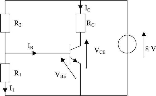 Exercice avec corrigé de transistor npn